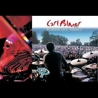 Carl Palmer - Working Live Volume 2 [CD] USA import