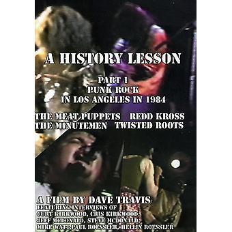 Geschichtsstunde PT. 1: Punk-Rock in Los Angeles - Geschichte Lektion PT. 1: Punk-Rock in Los Angeles [DVD] USA Import