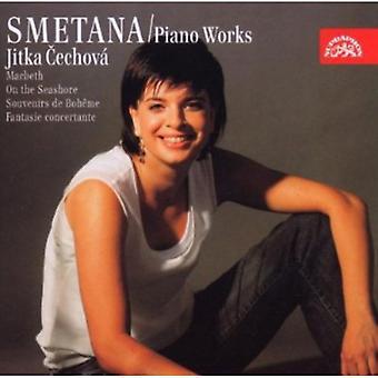 B. Smetana - Smetana: Piano Works - Macbeth, on the Seashore, Souvenirs De Boheme [CD] USA import