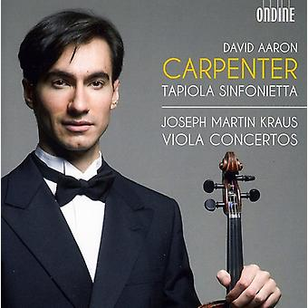 J.M. Kraus - Joseph Martin Kraus: Viola Concertos [CD] USA import