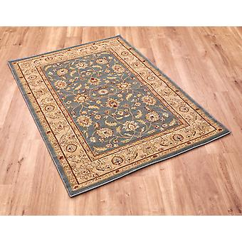Ziegler 7709-blue Blue Circle Rugs Traditional Rugs