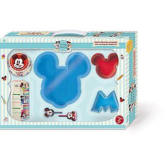 Kits de regalo en forma de silicona moldes Mickey Mouse Disney diseño de la torta