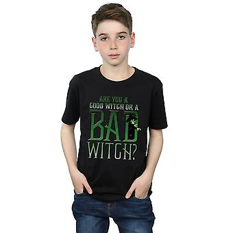 The Wizard Of Oz Boys Good Witch Bad Witch T-Shirt