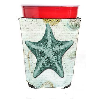 Carolines Treasures  SB3043RSC Starfish  Red Solo Cup Beverage Insulator Hugger