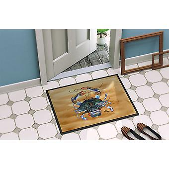 Carolines Treasures  8156-MAT Crab  Indoor or Outdoor Mat 18x27 8156 Doormat