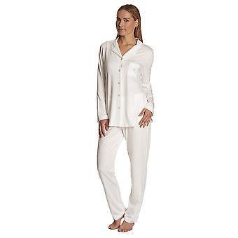 Féraud 3883032-10044 Kvinner's Champagne Hvit Pyjamas Sett