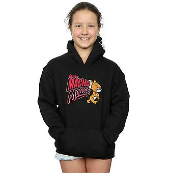 Tom And Jerry Girls Macho Mouse Hoodie