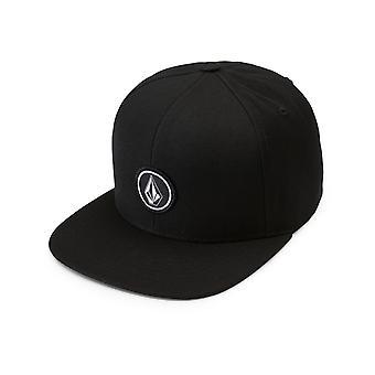 Volcom Quarter Twill Cap in Black