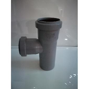 Insérer des déchets raccords - branche 90 degré Tee (Strucuture T) - 40mm de diamètre