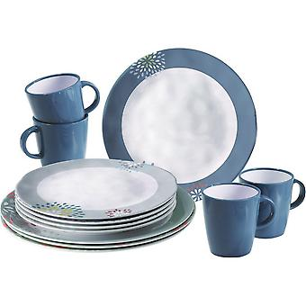 Brunner Belfiore 16 Piece Plates And Mugs Dining Set