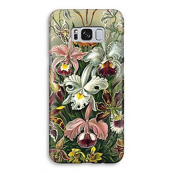 Samsung Galaxy S8 volledige Print kast (Glossy) - Haeckel Orchidae