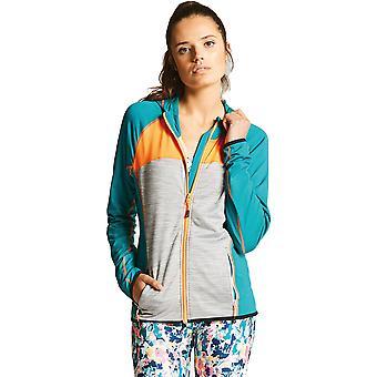 Tør 2b kvinners høflighet II Core strekk rask tørr Zip jakke