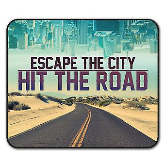 Escape The City  Non-Slip Mouse Mat Pad 24cm x 20cm | Wellcoda