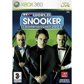 Snookerin maailmanmestaruuskilpailut 2007 (Xbox 360) - Uusi