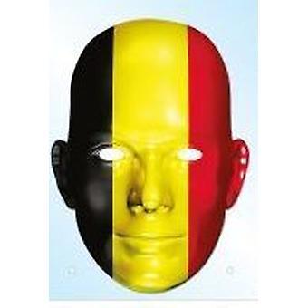 Belgian lippu naamio