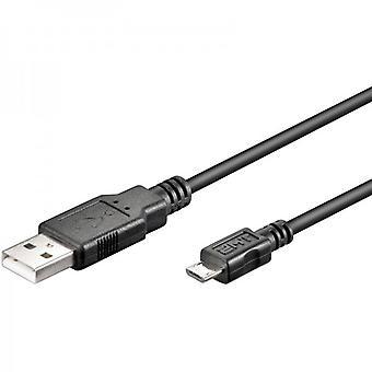 datos de 3m USB 2.0 y cable de carga para todos los Smartphone y tablet con micro USB