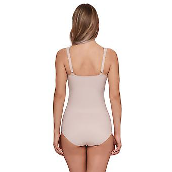 Susa 6583-249 Women's London Nude Solid Colour Non-Wired Bodysuit One Piece Body