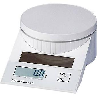 Maul MAULtronic S 5000 Letter scales Weight range 5 kg Readability 2 g, 5 g White