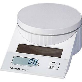 Maul MAULtronic S 5000 Brief Waage Gewicht reichen 5 kg Ablesbarkeit 2 g, 5 g weiß