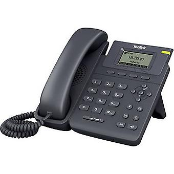 Yealink SIP-T19P Corded VoIP Mani libere, collegamento auricolare Colour TFT/LCD Black