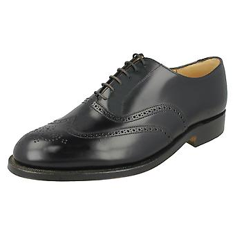 Mens Grenson Leather Lace Up Brogue Shoes 'Perth'
