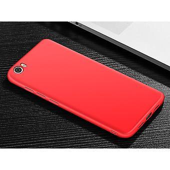 TPU para Xiaomi Redmi nota 4 vermelho