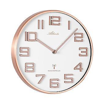 壁の時計付きラジオ アトランタ - 4386-18