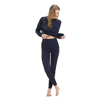 Tommy Hilfiger Side Logo Leggings - marineblå Blazer
