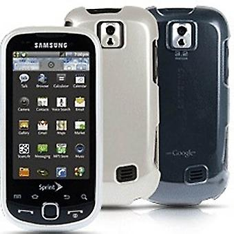 Sprint 2-Pack 2 st Hardshell fall för Samsung Intercept (Clear/pärla)