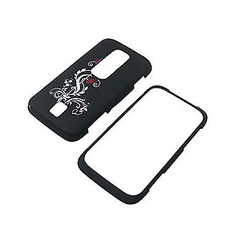 Cube Snap-On Case pour Huawei Ascend M860 (floraison abstrait)