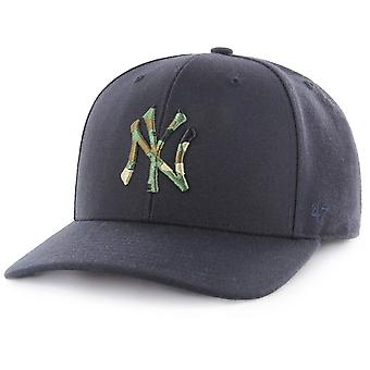 47 Brand Adjustable Cap - CAMOFILL New York Yankees navy