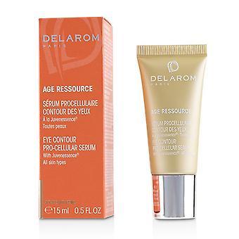 Delarom Age Ressource Eye Contour Pro-cellular Serum - 15ml/0.5oz