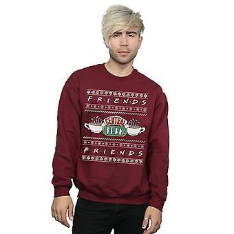 Venner mænds Fair Isle Central Perk Sweatshirt
