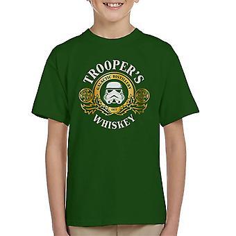 Original Stormtrooper Galactic Distillery Whiskey Kid's T-Shirt
