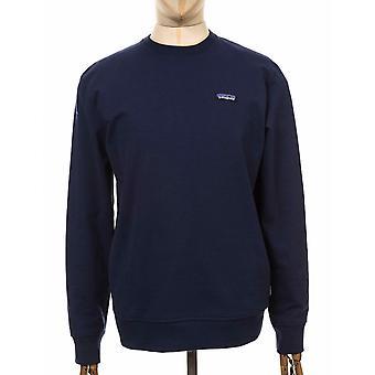 Patagonia P-6 Label Uprisal Crew Sweatshirt - Classic Navy
