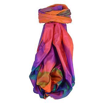 Varanasi Ekal Premium Silk Long Scarf Heritage Range Malik 8 by Pashmina & Silk