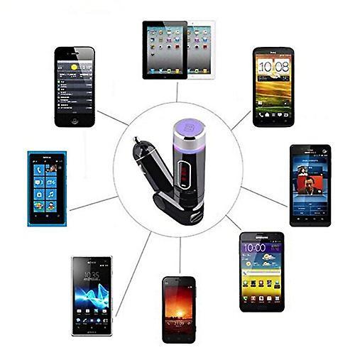 Wireless Bluetooth FM Transmitter, Radio Adapter Car Kit