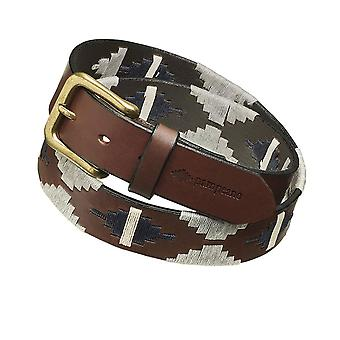 Pampeano Leather Tornado Polo Belt