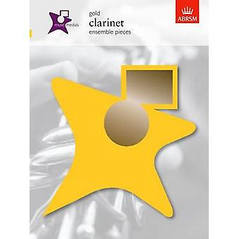 Music Medals Gold Clarinet Ensemble Pieces by ABRSM - 9781860965005 B