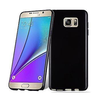 Cadorabo tilfældet for Samsung Galaxy NOTE 5 Case Cover-fleksibel TPU silikone case sag Ultra Slim Soft tilbage Cover sag kofanger