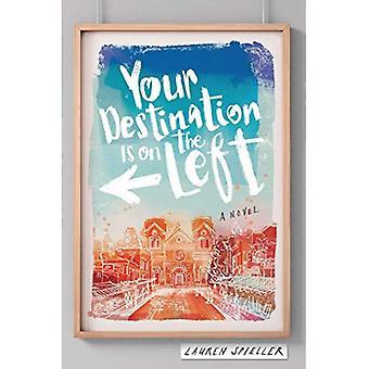 Votre Destination se trouve sur la gauche