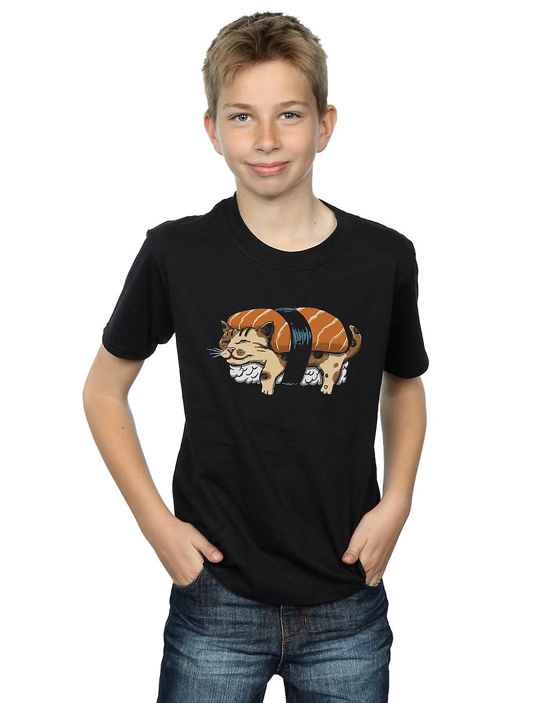 Vincent Trinidad Boys Neko Sushi T-Shirt