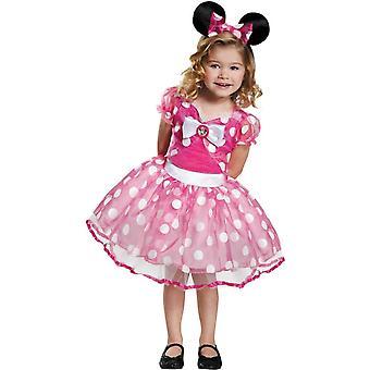 Pink Minni Child Costume