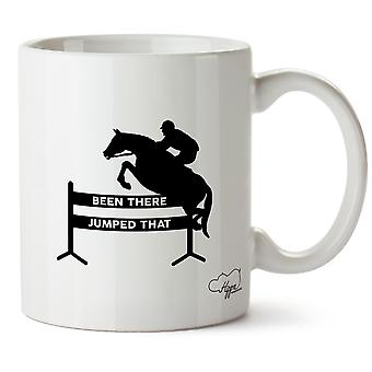 Hippowarehouse Been There Jumped That Printed Mug Cup Ceramic 10oz