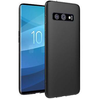 Samsung Galakse S10 + | Tynn, Matt svart veske