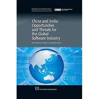 Chine et Inde opportunités et menaces pour l'industrie du logiciel Global par McManus & John C.