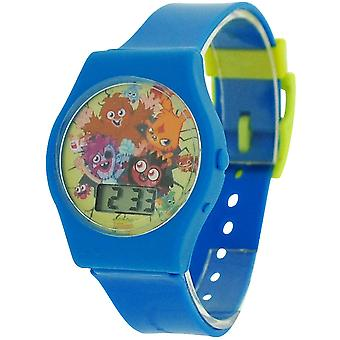 Moshi Monsters blau Boys Digital Kunststoffband Watch MM018