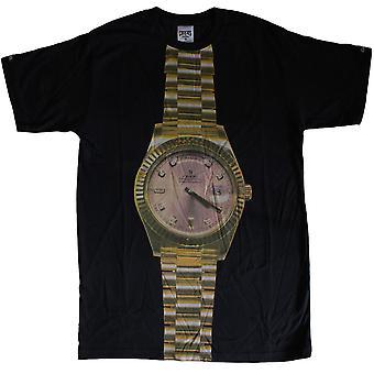 Crooks & Castles Presi T-Shirt Black