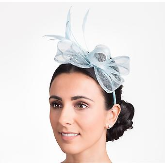 Hawkins Collection Womens/Ladies Bow And Feather Fascinator