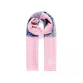 Intrigue Womens/Ladies Polka-Dot And Floral Print Scarf